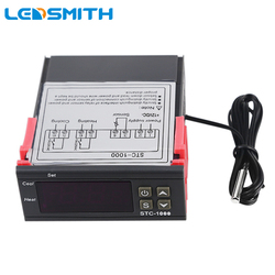 Sensor de Termômetro Digital LEVADO STC-1000 Termorregulador para Incubadora Termostato Controlador de Temperatura 110 V-220 V 12 V 24 V 10A