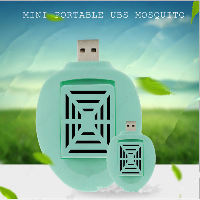 3Color Portable Electric Mosquito Killer Repeller USB Car Repellent Bugs Anti Trap for Baby Kids Room Outdoor Camping