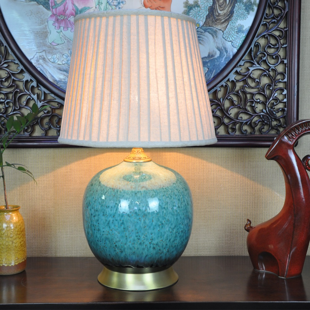 Art Chinese Porcelain Ceramic Table Lamp Bedroom Living Room Wedding Table  Lamp Jingdezhen Luxury Bedside Tables UK 2019 From Cornelius, UK $&Price; |  ...