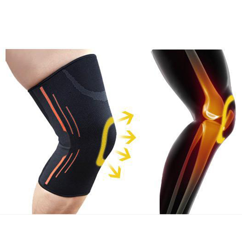 1pcs High Quality Outdoor Knee Brace Protective Sports Safety Bandage Knee Support for Basketball Tennis Cycling Running Knee цена