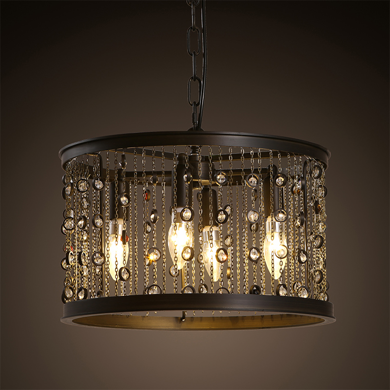 Retro Vintage Loft American Country Tassel Pendant Lamp Kitchen Dinning Room Modern Home Decor Gem Chandelier Lighting Fixture бра citilux cl601311