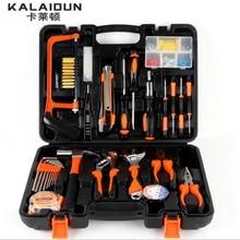 KALAIDUN 100 шт. комбинированный инструмент многофункциональный домашнего обслуживания инструменты ключ оборудование руки набор инструментов коробка люкс
