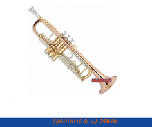 Bb Trumpet Professional Model With Case-Bore Size 11.65mm-Bell DIA.123mm