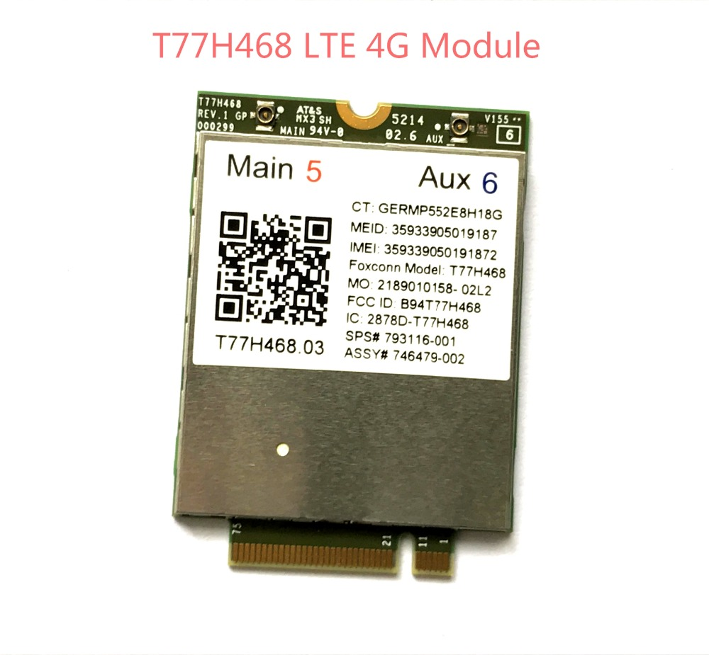 4G Module for HP LT4211 gobi LTE/EV-DO/HSPA+ WWAN Card SPS 793116-001 T77H468 M.2 EliteBook 820 840 850 G2 810 G3 Zbook14 15U G2 free shipping brass & stone golden towel rack gold towel bar towel holder cy008s