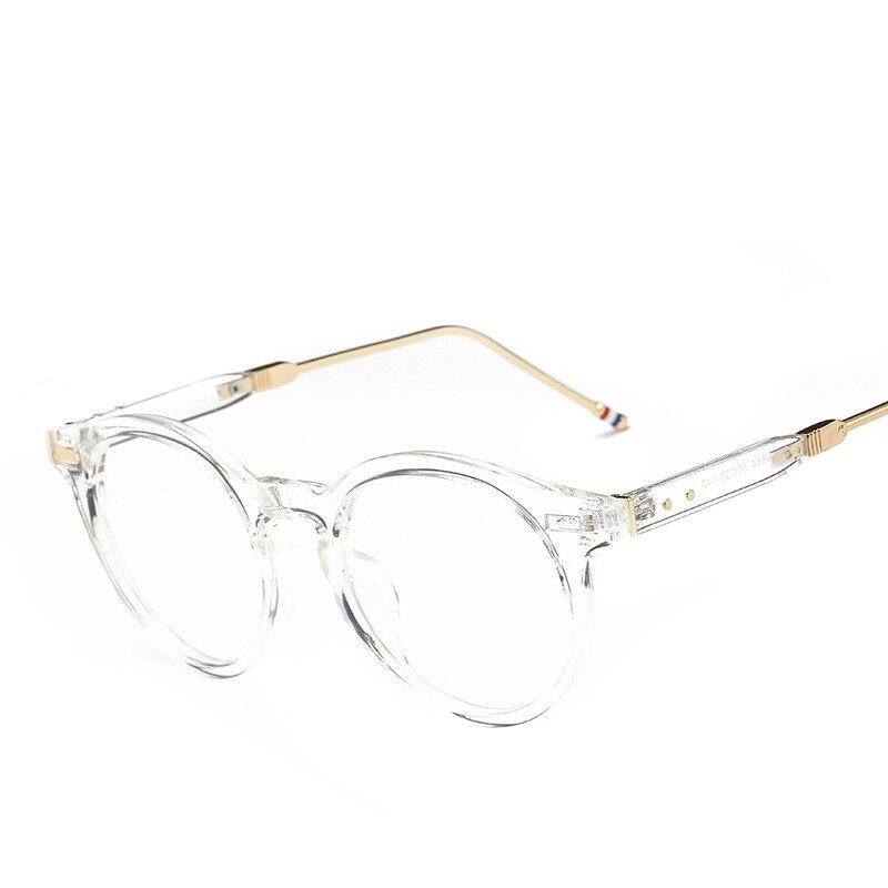 194c6506673 VAZROBE Retro Round Glasses Frame Men Women s Vintage Eyeglasses Frames  brand Best Optical Lenses Spectacles PC Thick Man -in Eyewear Frames from  Men s ...