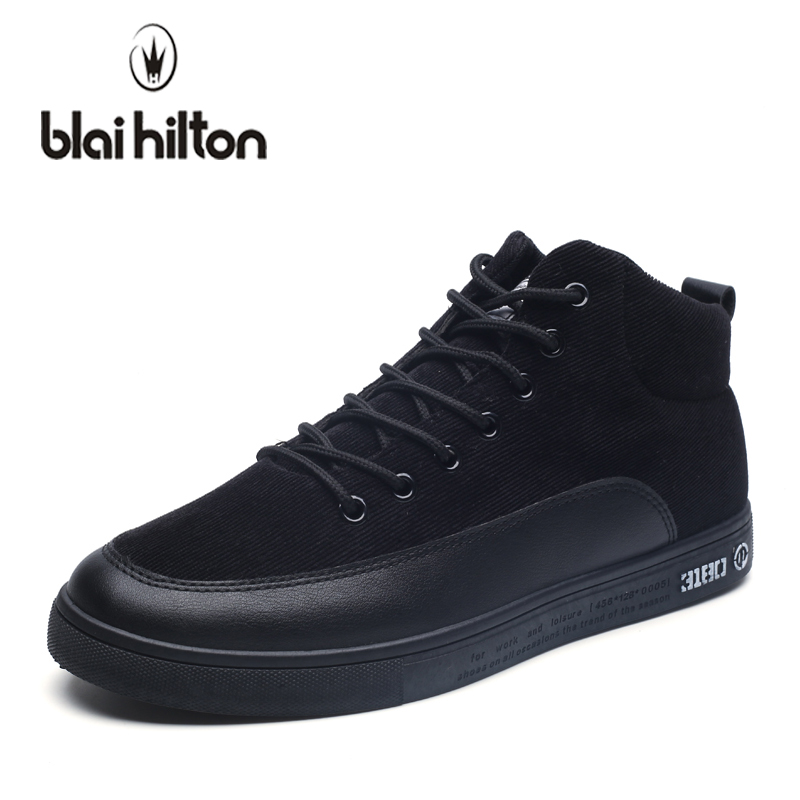 blaibilton Brand 2018 Men Shoes Casual Sneakers Patchwork High Top Fashion Footwear Male Cool Hightop Shoes High Quality SDW69-1 blaibilton brand winter warm velvet high top men casual shoes luxury genuine leather male footwear fashion designer mens sd3599