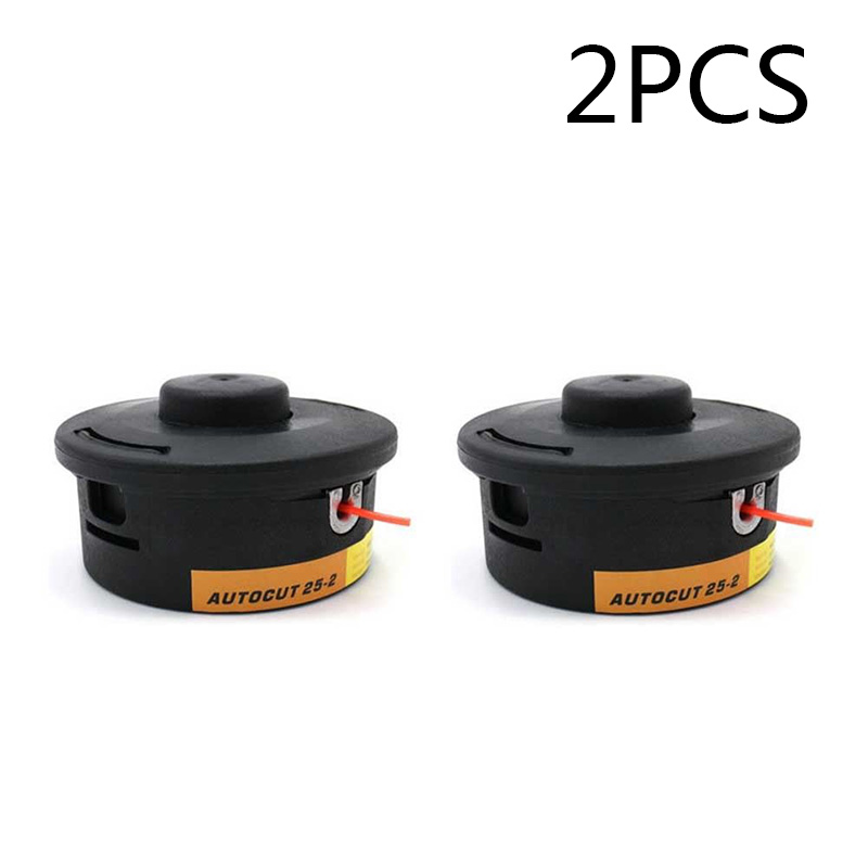 2pcs Trimmer Head For Stihl Autocut 25-2 FS44 FS55 FS80 FS90 FS100 Replacement Set Easy To Install KM 55, 56, 85, 90, 110, 130