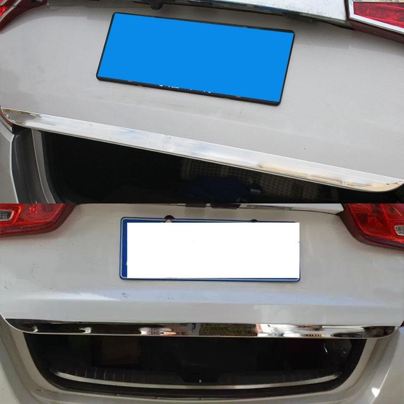 Для KIA OPTIMA K5 2011- хромированная Задняя Крышка багажника задняя дверь отделка багажника декоративный молдинг стильный стикер 2012