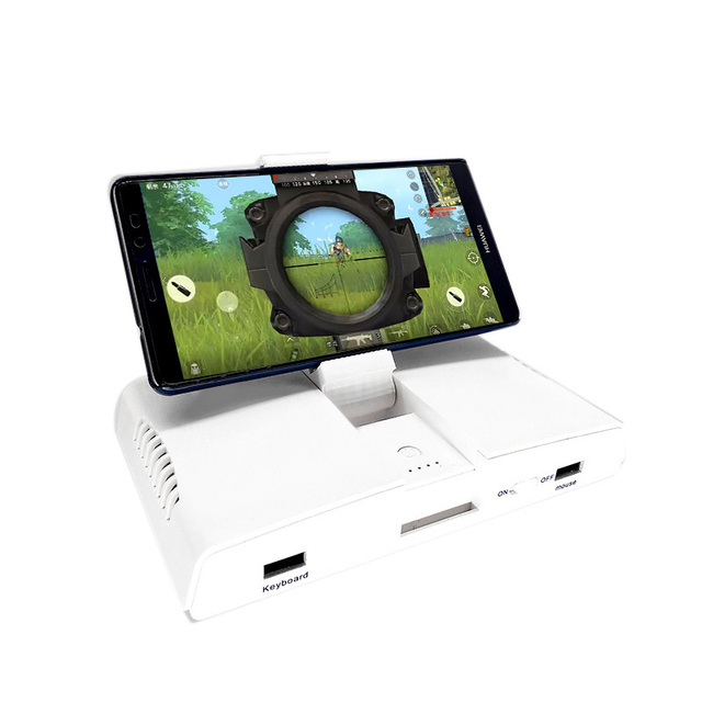 Powkiddy Bluetooth Battledock Converter Stand Charging Docking For FPS Games, Using With Keyboard And Mouse, Game Controller,