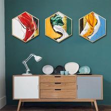 European luxury living room decorative painting Modern sofa background wall Entrance bedroom diningroom framed mural