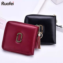 2019 New Fashion Women Leather Zipper Wallet Lady Portable Multifunction Small Solid Multicolor Purse Hot Female Clutch