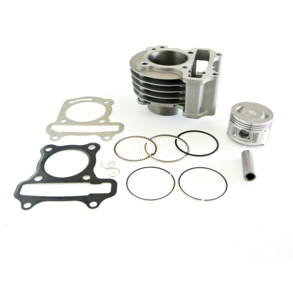 100cc Big Bore Cylinder Kit Fits GY6 100cc 4 Cycle Chinese Scooter 139QMB Upgrade