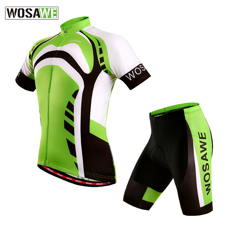 ФОТО WOSAWE Cycling Jersey Maillot Bike Men Ciclismo Bicycle Wear clothing MTB shirt gel padded cycling sets spandex
