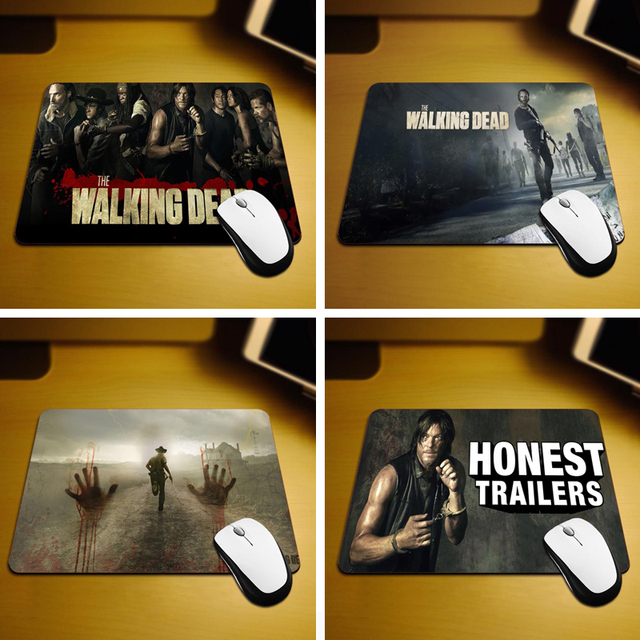 The Walking Dead Silicone Mouse Pad