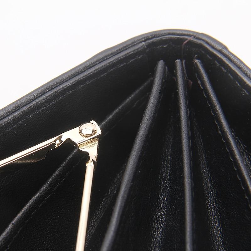 Brand Women's Plånbok Serpentine Pattern Äkta Läder Kort Kvinna - Plånböcker - Foto 6