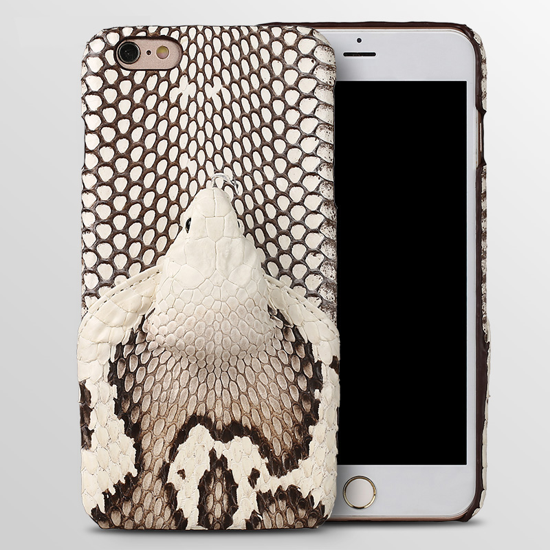 wangcangli Brand genuine snake skin phone case For iphone 6 plus phone back cover protective case leather phone casewangcangli Brand genuine snake skin phone case For iphone 6 plus phone back cover protective case leather phone case