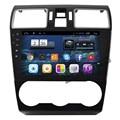 9 de polegada Quad Core Android Carro DVD Player para Subaru/Forester/XV 2015 2016 GPS Navigation Radio Bluetooth wi-fi HD1024 * 600