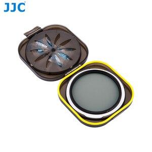 Image 4 - JJC 카메라 UV CPL 케이스 렌즈 필터 보호기 방수 37/40. 5/43/46/49/52/58/62/67/72/77/82mm 필터 방습 상자