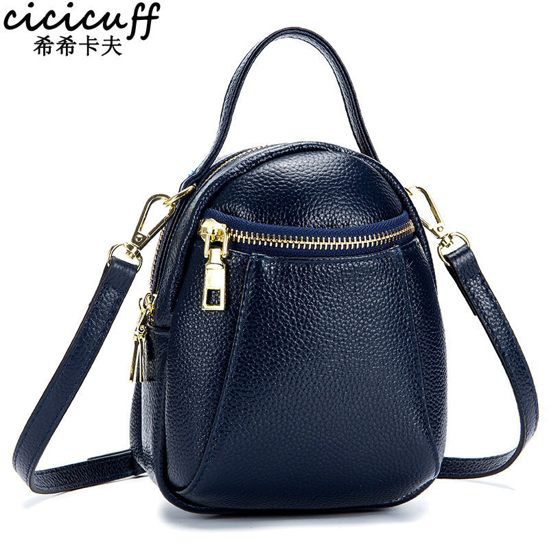 CICICUFF 100% Real Leather Ladys Messenger Bags 2019 New Large Capacity Shoulder Bags Mobile Phone Bag for Women Bucket BagCICICUFF 100% Real Leather Ladys Messenger Bags 2019 New Large Capacity Shoulder Bags Mobile Phone Bag for Women Bucket Bag