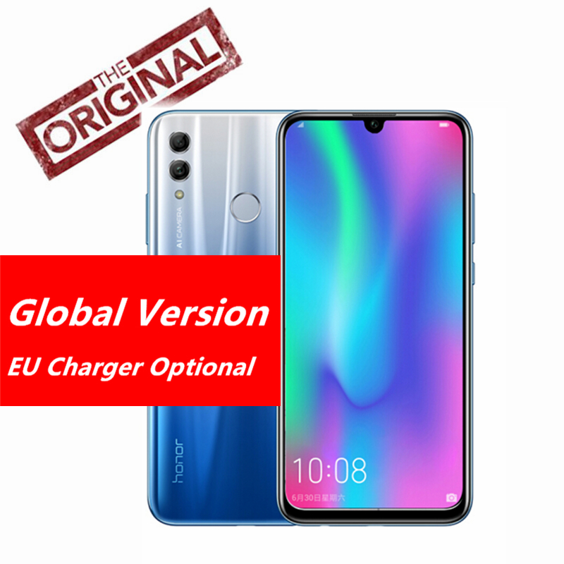 Global Version Honor 10 Lite 3G 64G Android 9 0 6 21 FHD 2340X1080 Dual Font