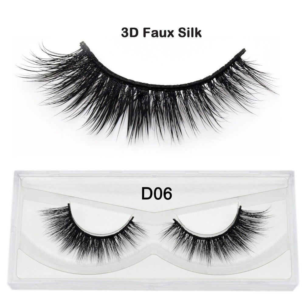 Hot Sale Visofree 3d Faux Silk Eyelashes Cruelty Free Multi Layered