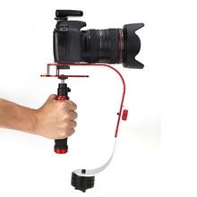 Pro de mano steadicam estabilizador de vídeo para canon nikon sony gopro hero cámara camcord dslr steadycam steady con caja al por menor
