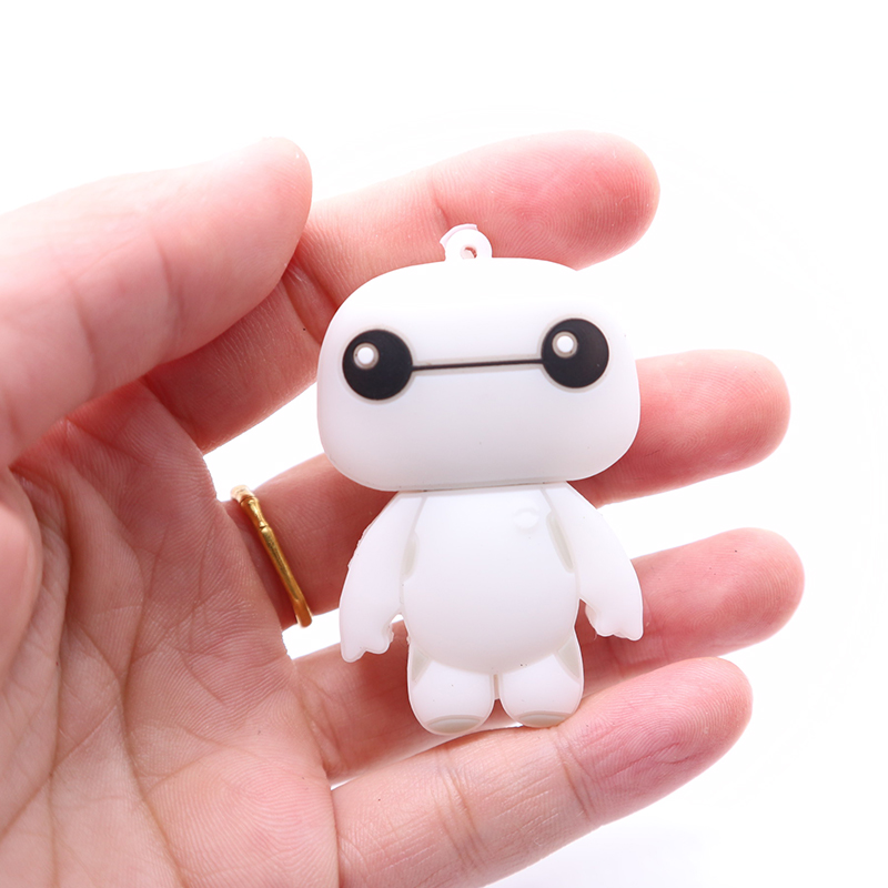 pendrive 128gb big heros Baymax memory stick usb flash drive Personalized gift usb stick cute lovely gift for child