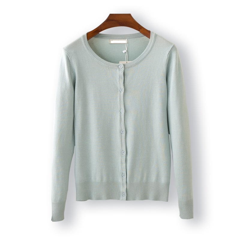 New Women Spring/ Autumn Sweater 2017 Casual Cardigan Fashion Warm Slim Loose Knit Sweat ...