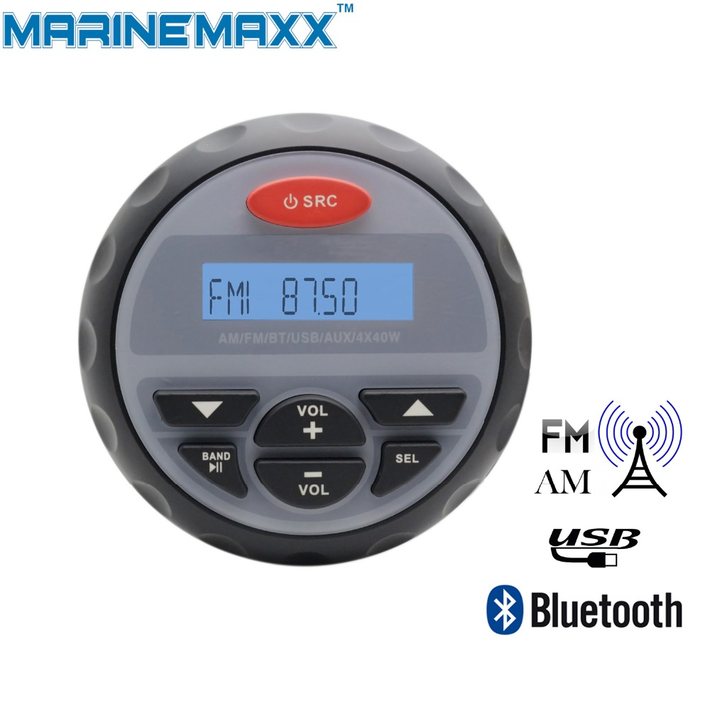 4 Quot Waterproof Marine Radio Motorcycle Stereo Audio