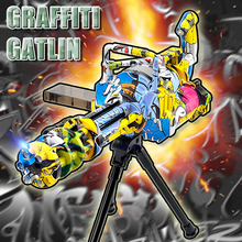 Graffiti Gottlin font b Toy b font Gun Christmas Gift Kid Airsoft Pistol Electric Continuous launch
