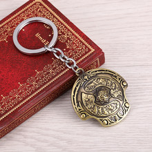 New arrival Dota 2 Immortal Champion Shield Key Chain Dota2 keychain Car Keychain TI 5 Aegis of Champions pendant porte clef(China)