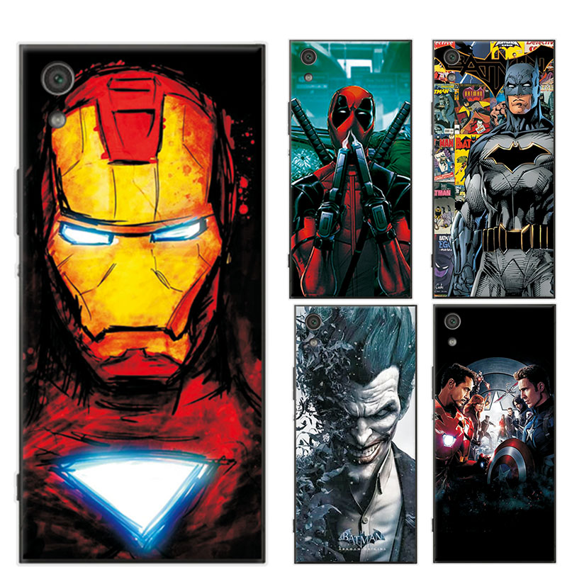 Charming Painted Case Cover For Sony Xperia XA1 Ultra 6.0 Marvel Avengers TPU Phone Cases For Sony Xperia XA1 Ultra G3221 G3223