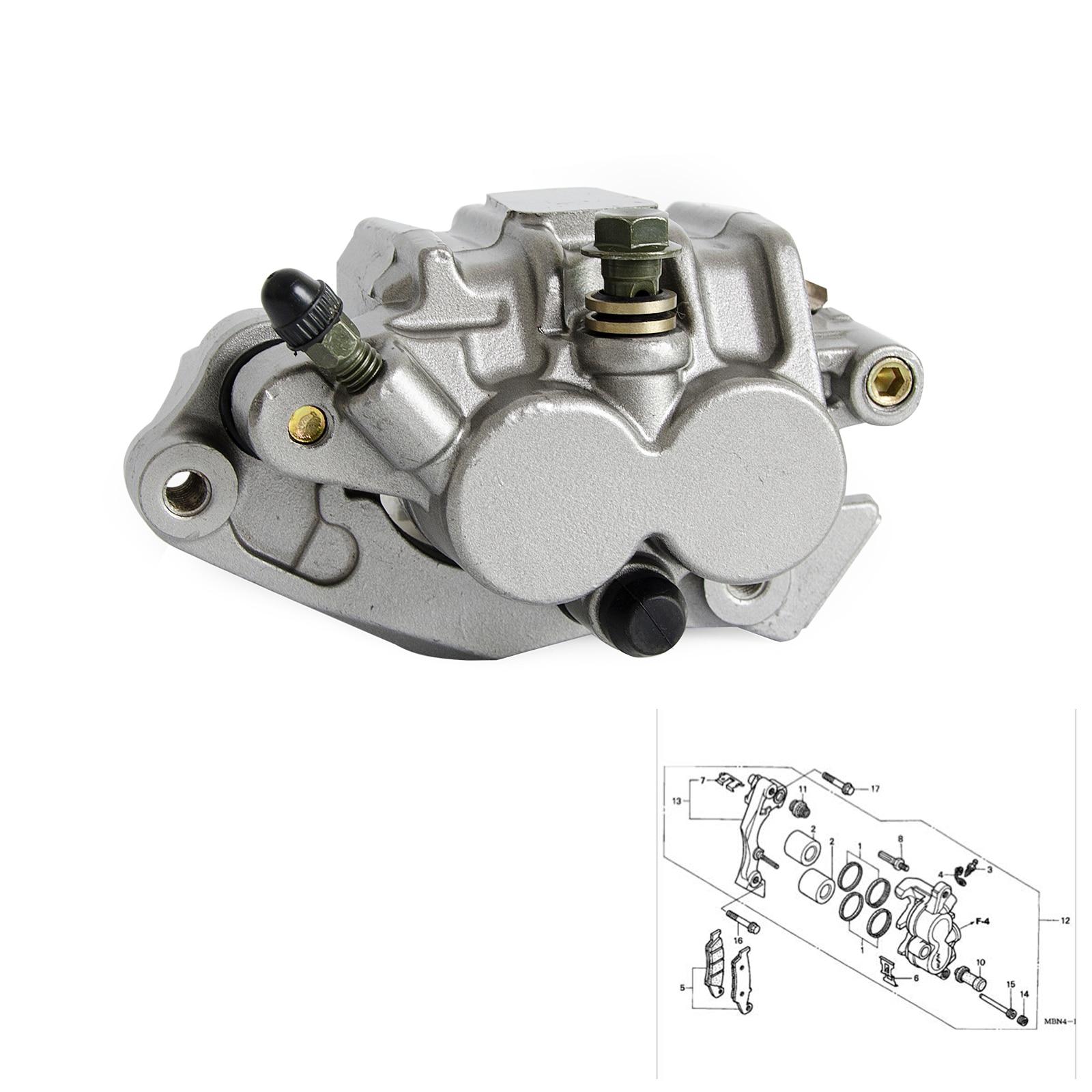 Front-Brake-Caliper XR650R CR250R 125R Crf 150f 230F 2003-2009 Honda for Cr250r/Crf150f/Crf230f/..