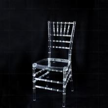 Свадебные акриловые стулья 4 шт./лот прозрачные чистые стулья для вечеринки Свадебные реквизиты