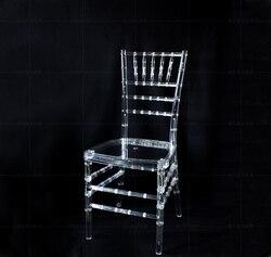 الزفاف الاكريليك كرسي الكراسي الزفاف حزب الدعائم 4 قطعة/الوحدة شفافة نظيفة