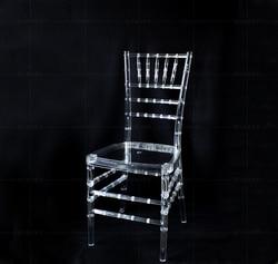 Wedding acrilico sedia 4 pz/lotto Trasparente clean sedie di nozze puntelli del partito