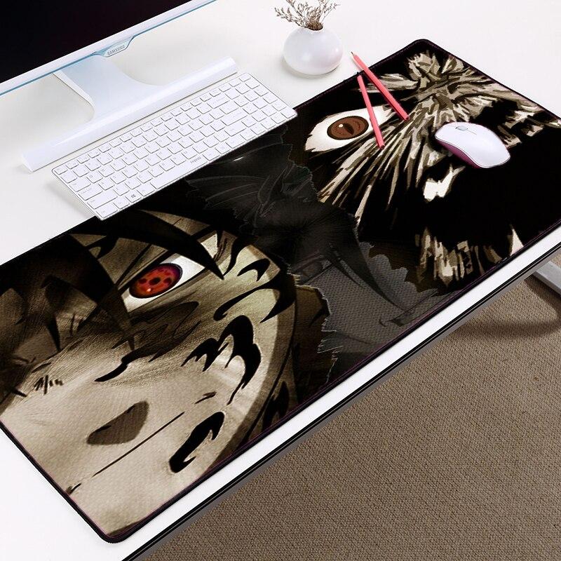 Mairuige Аниме Коврик для мыши Наруто Узумаки бессмертный модель Коврики на стол большой Размеры 3000x800x3 мм Mousemat для подарки PC игровые коврики