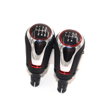 For Volkswagen Golf 7 MK7 5 6 shifter knobs Speed and Gear Knob Only Lever with chrome part CNWAGENR