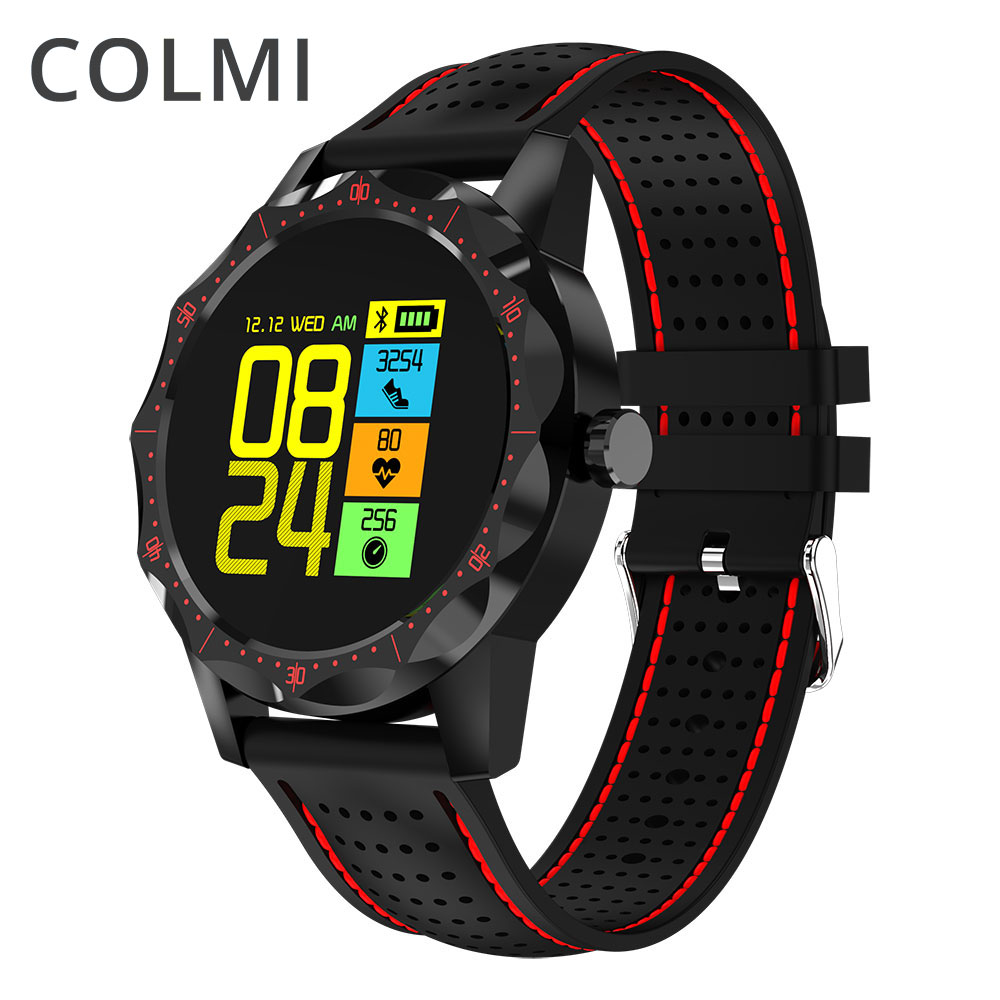 COLMI GPS Transflectif Affichage Intelligent Montre De Sports Multiples Modes En Plein Air Fitness Tracker Smartwatch pour Android IOS Téléphone
