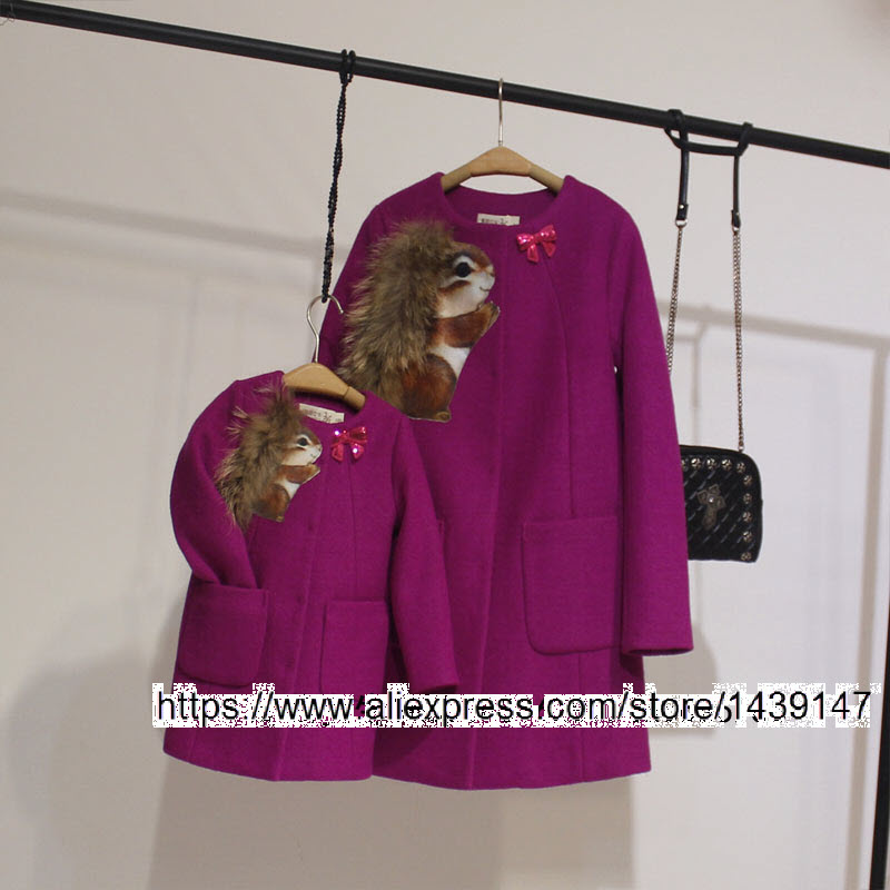2-12 years old Girls Coat children clothing Family fitted winter 2xl 3xl 4xl Woman Woolen coat Mother daughter clothing squirrel small motherboard computer cases server 1 rtl8111dl onboard nic gigabit lan wake on lan or wifi network
