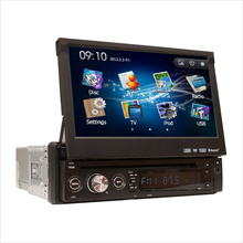 JSTMAX 1 one Din 7″ universal  inch Car DVD player with GPS Navigation,FM audio Radio stereo,USB/SD,BT, touch screen
