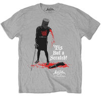 Monty Python 'Tis But A Scratch' T Shirt NEW & OFFICIAL!