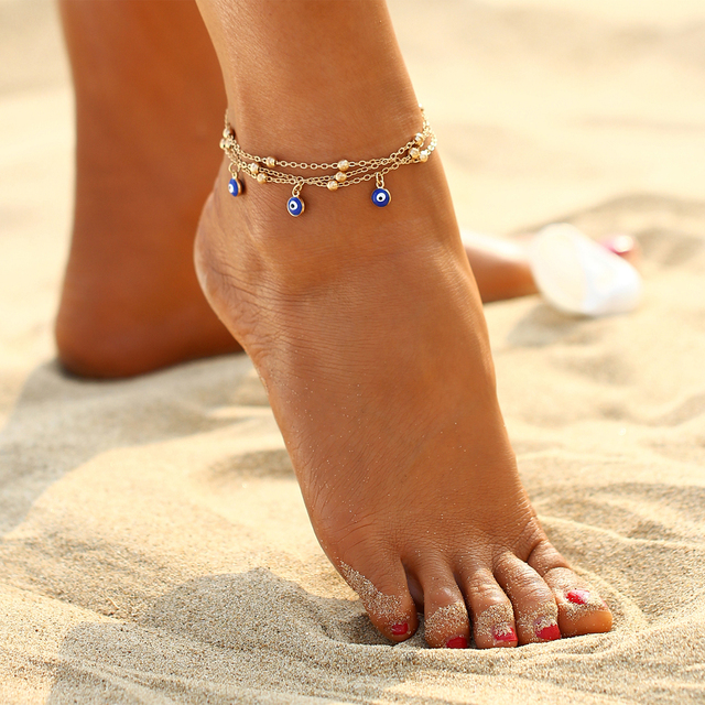 1 Piece – Women's Bohemian Ankle Bracelet Cheville Barefoot Sandals Pulseras Tobilleras Foot Jewelry