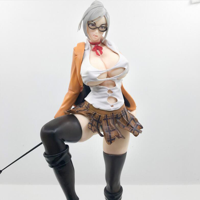 25cm sexy figure Anime Prison School Meiko Shiraki Sexy Action Figures PVC Collection Model toys brinquedos Gift 4