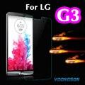 3g de vidro 2.5d 9 h premium de vidro temperado para lg g3 d855 D850 D830 Com Retail Box Protetor de Tela Anti Shatter Film Para lg3