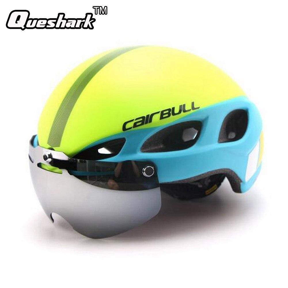 Cycling Helmet In-mold Road Mountain Bicycle Helmet Ultralight Bike Helmet With Lens universal bike bicycle motorcycle helmet mount accessories