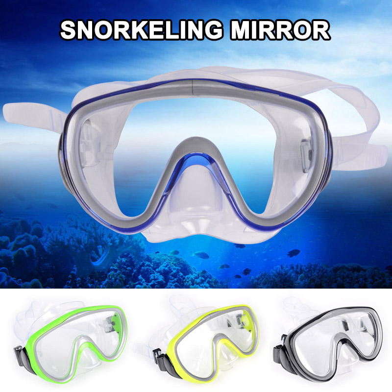Professional Underwater Diving Mask Swimming Scuba Snorkel Goggles FH99