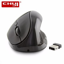 CHYI Vertical Wireless Mouse Rechargeable Mice USB Gaming Ergonomics Healthy Mouse Mause With Built In Battery