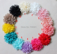 """3.75"""" lace flowers for headband hair accessory 50PCS 13 colors for selection free shipping"""