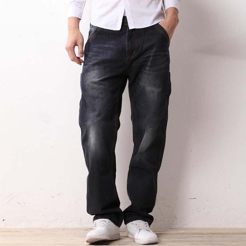 New Straight Jeans Autumn Winter Men's L